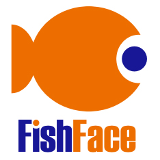 fish face logo