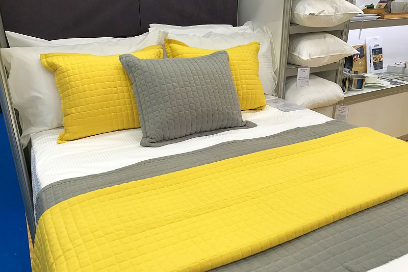 Bedding & linens at the Expowest Cornwall tradeshow 2019