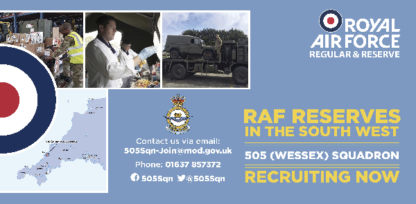 505 (Wessex) Squadron, Royal Air Force Reserves in the South West